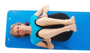 Rocking to gently mobilise the lower back