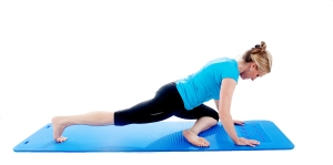 stretch for hip & buttock