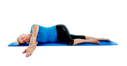 Image result for images for side lying shoulder exercises