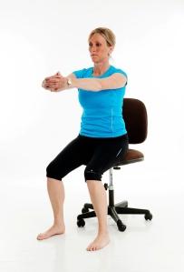 Mid Back Stretch