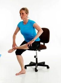 Image result for stretching in office chair